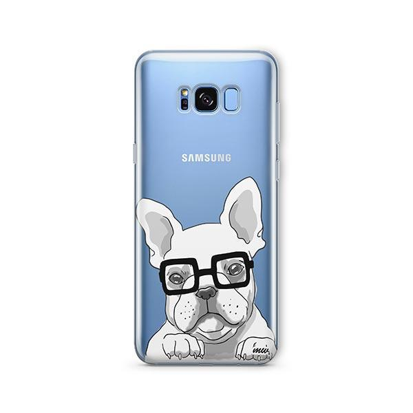 The Frenchie -  Samsung Galaxy S8 Clear Case
