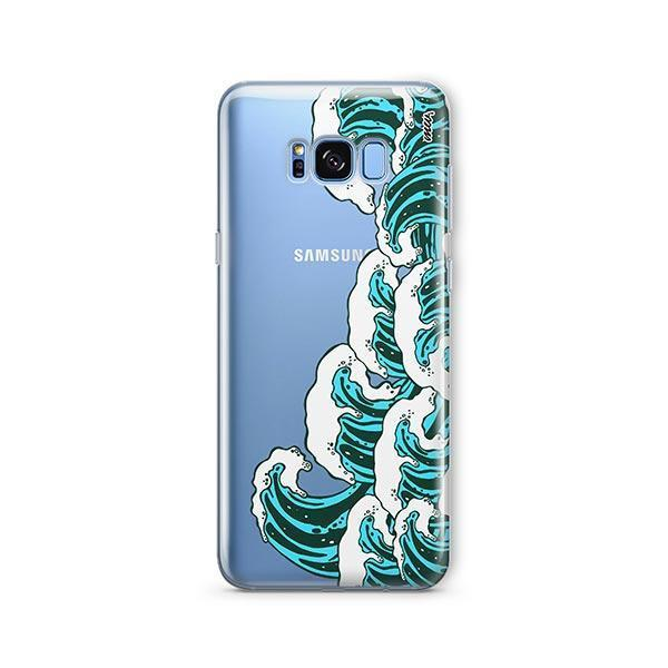 Full Great Wave Kanagawa - Samsung Galaxy S7 Edge Case Clear