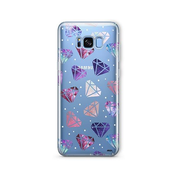 Galatic Diamonds - Samsung Galaxy S7 Edge Case Clear