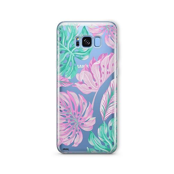 Hawaiian Garden - Samsung Galaxy S7 Edge Case Clear