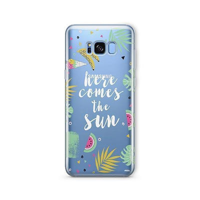 Here Comes The Sun - Samsung Clear Case