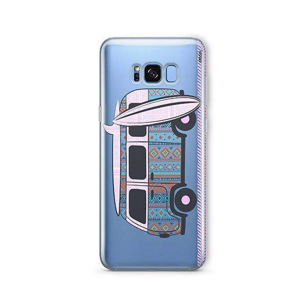 Hipster Van - Samsung Galaxy S7 Edge Case Clear