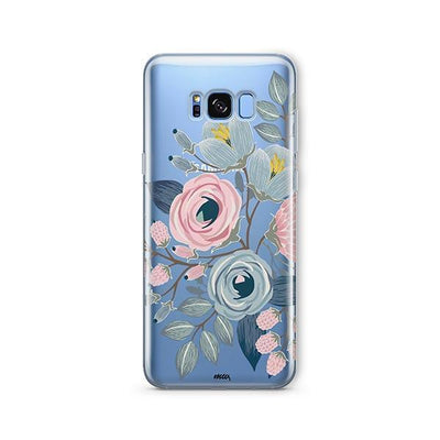 Indigo - Samsung Clear Case