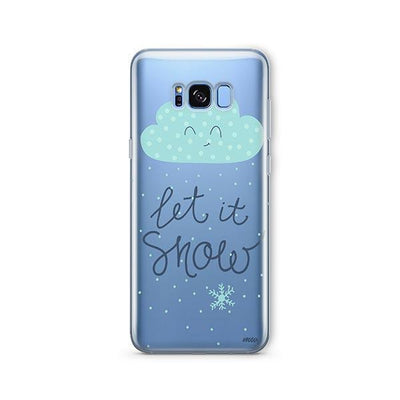 Let It Snow - Samsung Clear Case