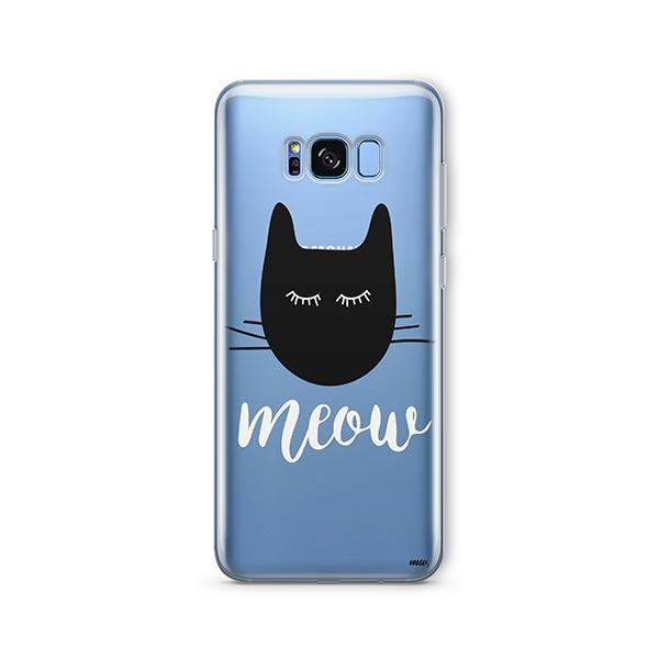 Meow -  Samsung Galaxy S8 Clear Case