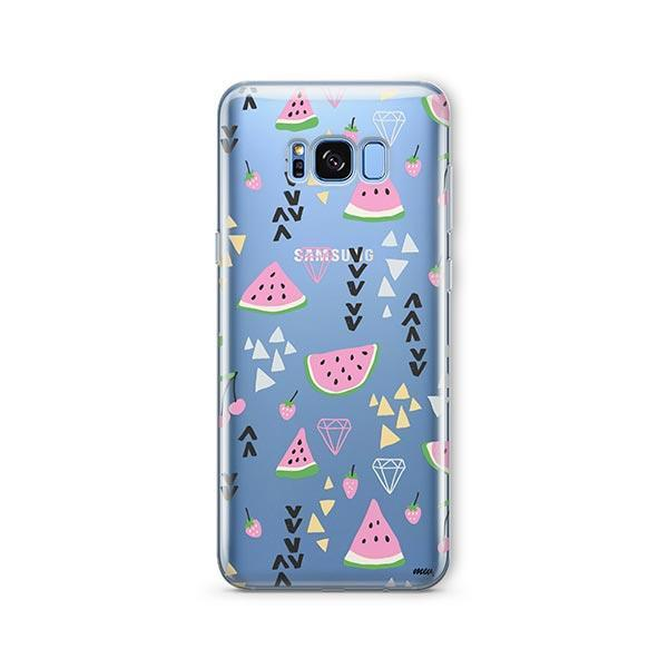 Pink Party - Samsung Galaxy S7 Edge Case Clear