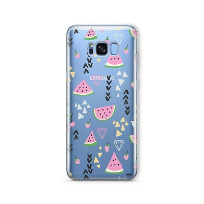 Pink Party - Samsung Clear Case