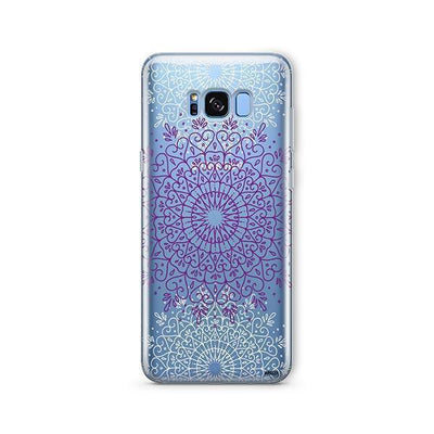 Purple Mandala - Samsung Clear Case