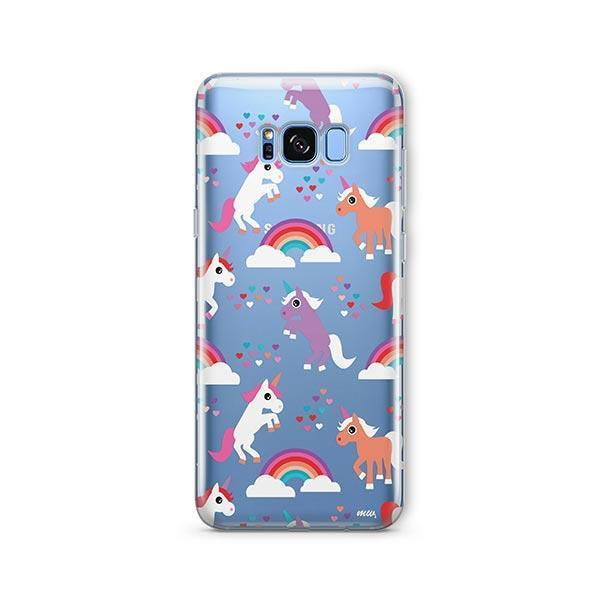 Rainbows and Unicorns - Samsung Galaxy S7 Edge Case Clear