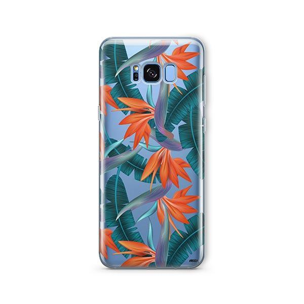 Strelitzia - Samsung Galaxy S7 Edge Case Clear