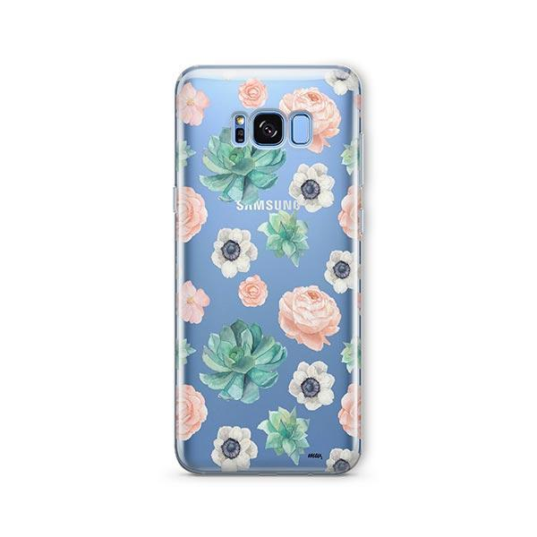 Succulent Overload - Samsung Galaxy S8 Case Clear