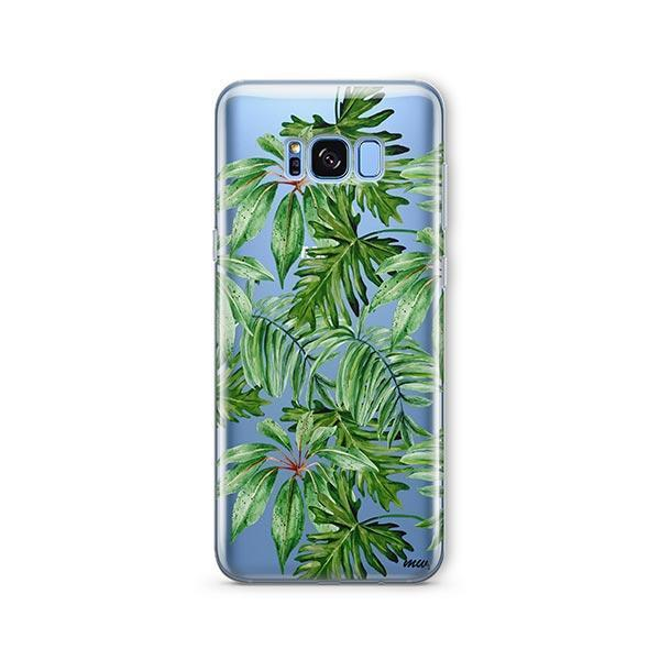 The Tropics - Samsung Galaxy S8 Case Clear