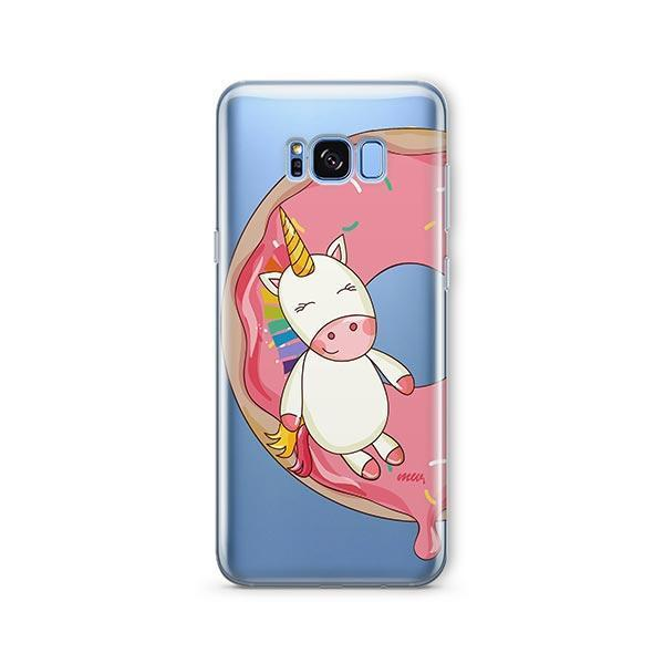 Unicorn Sprinkles - Samsung Galaxy S7 Edge Case Clear