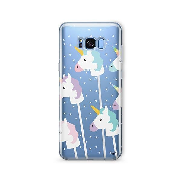 Unicorn Pops - Samsung Galaxy S7 Edge Case Clear