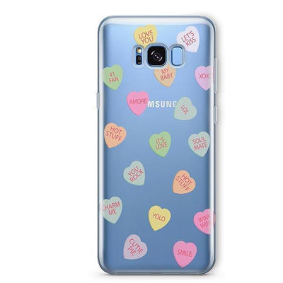 Valentines Candy - Samsung Clear Case