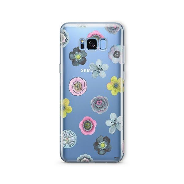 Watercolor Succulent - Samsung Galaxy S8 Case Clear