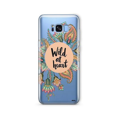 Wild At Heart - Samsung Clear Case
