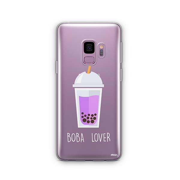 Boba Lover - Samsung Galaxy S9 Case Clear