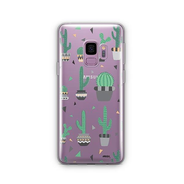 Cactus Party - Samsung Galaxy S9 Case Clear