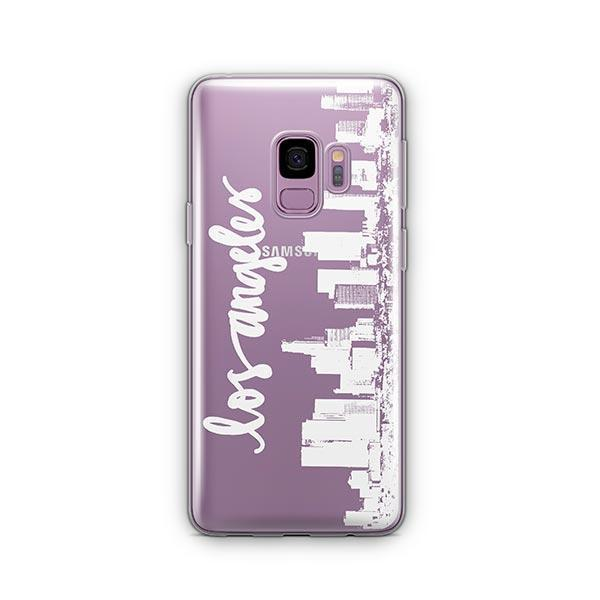 LA Skyline - Samsung Galaxy S9 Case Clear