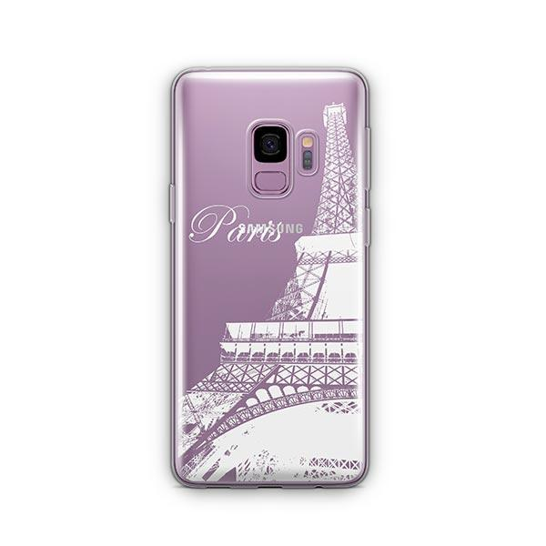 Paris - Samsung Galaxy S9 Case Clear