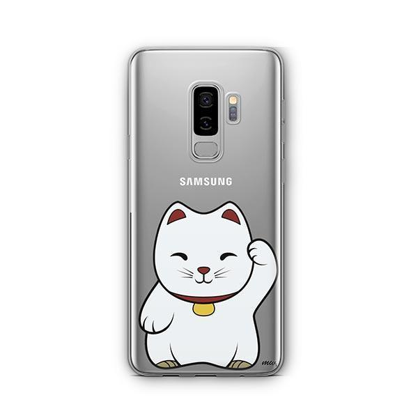 Lucky Cat -  Samsung Galaxy S8 Plus Clear Case