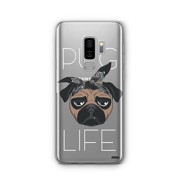 Pug Life -  Samsung Galaxy S8 Plus Clear Case