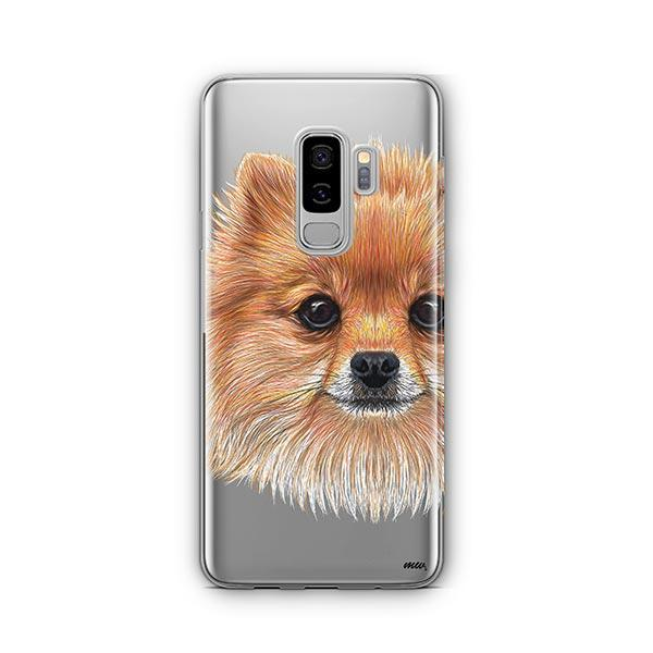 Pomsky Puppy -  Samsung Galaxy S8 Plus Clear Case