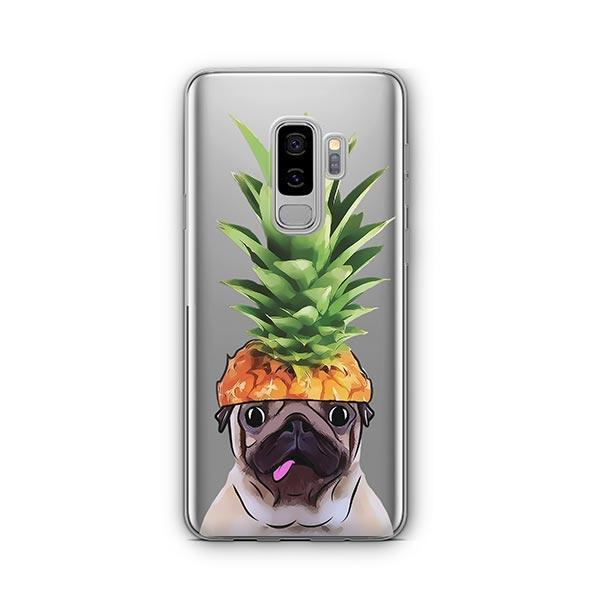 Pineapple Pug -  Samsung Galaxy S8 Plus Clear Case