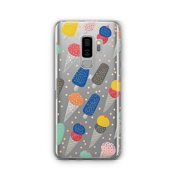 Sprinkles Ice Cream - Samsung Galaxy S9 Plus Case Clear