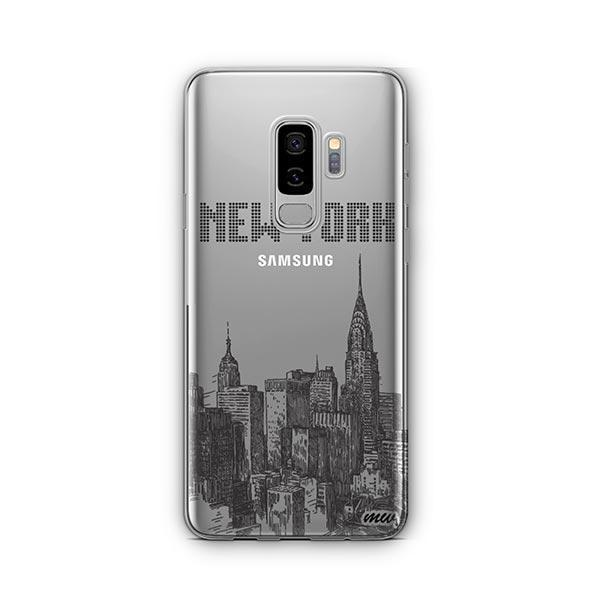 The Big Apple - Samsung Galaxy S8 Plus Case Clear