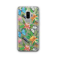 Tropical Butterfly - Samsung Galaxy S8 Plus Case Clear