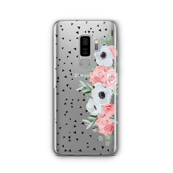 Anemone Rose - Samsung Galaxy S9 Plus Case Clear