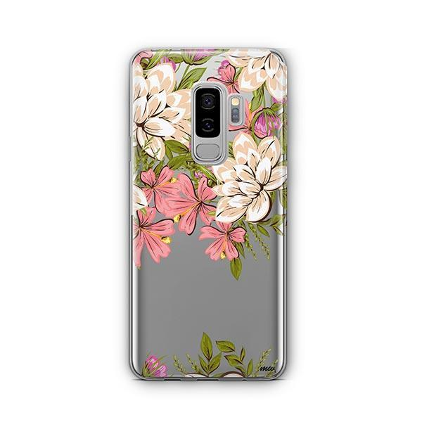 Angela Floral - Samsung Galaxy S9 Plus Case Clear