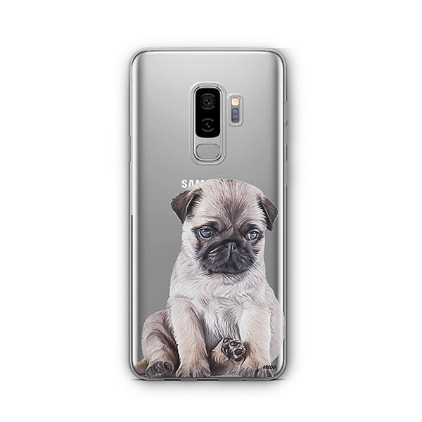 Baby Pug -  Samsung Galaxy S9 Plus Clear Case