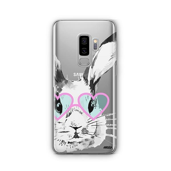 Beverly Hills Bunny -  Samsung Galaxy S9 Plus Case Clear
