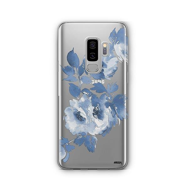 Blue Crush - Samsung Galaxy S9 Plus Case Clear