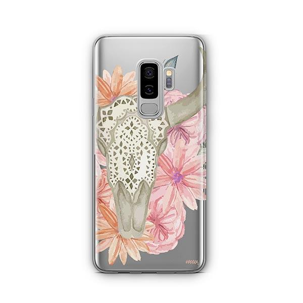 Boho Skull - Samsung Galaxy S9 Plus Case Clear