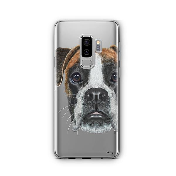 Boxer -  Samsung Galaxy S9 Plus Clear Case