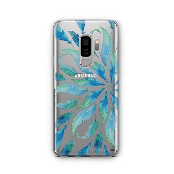 Burst of Feathers - Samsung Galaxy S9 Plus Case Clear