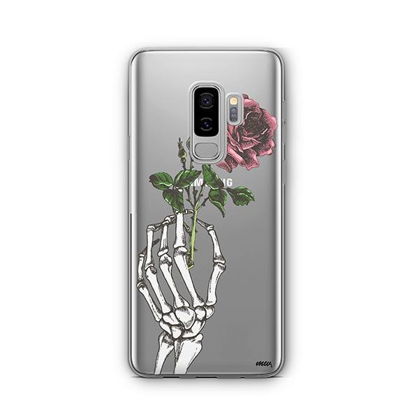 Crane Rose - Samsung Galaxy S9 Plus Case Clear