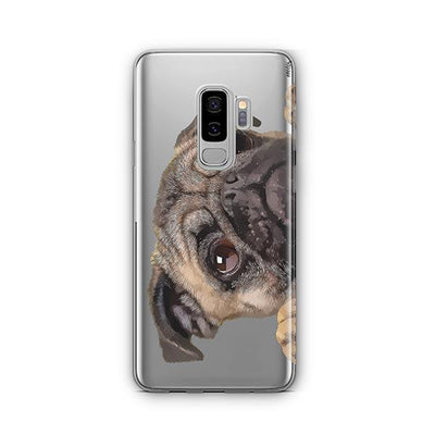 Cry Baby Pug - Samsung Clear Case