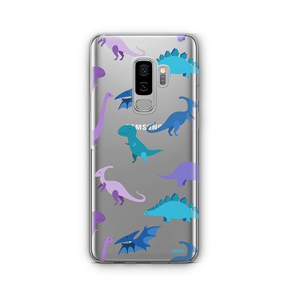 Dino Time - Samsung Galaxy S9 Plus Case Clear