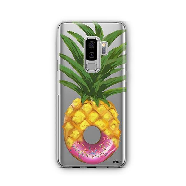 Donut Pineapple - Samsung Galaxy S9 Plus Case Clear