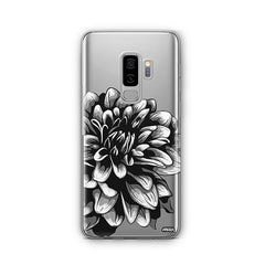 The Black Dahlia - Samsung Galaxy S8 Plus Case Clear