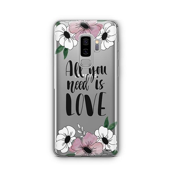 All You Need is Love - Samsung Galaxy S9 Plus Case Clear