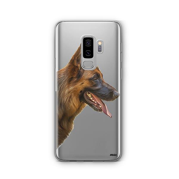 German Shepherd -  Samsung Galaxy S8 Plus Clear Case
