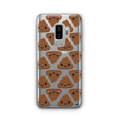 Happy Poo - Samsung Clear Case