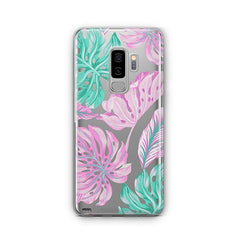 Hawaiian Garden - Samsung Galaxy S8 Plus Case Clear