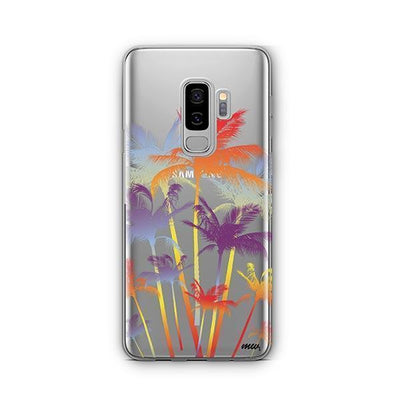 Hipster Palm Tree - Samsung Clear Case